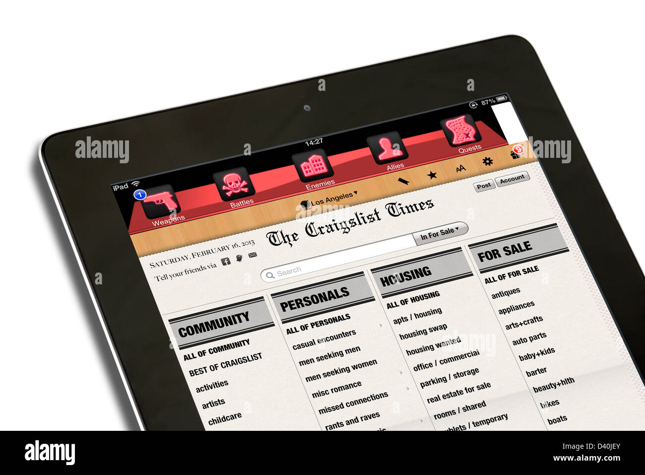 Personals Ads Stock Photos & Personals Ads Stock Images - Alamy