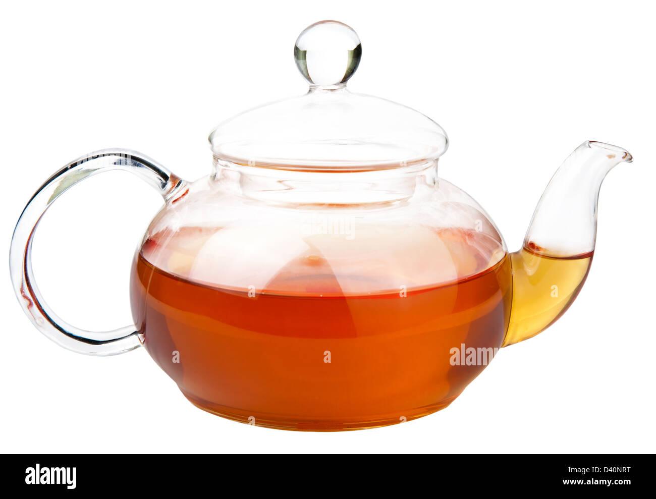 tea pot isolated - Stock Image
