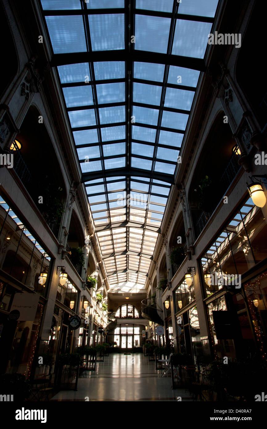 The Grove Arcade - Asheville, North Carolina - USA - Stock Image