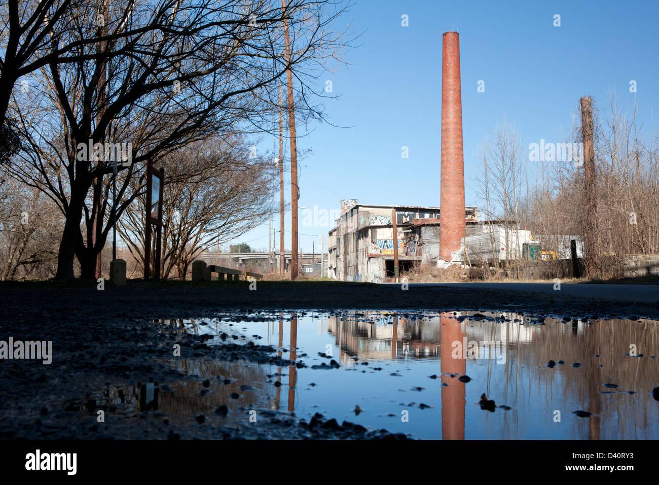 River Arts District - Asheville, North Carolina, USA - Stock Image