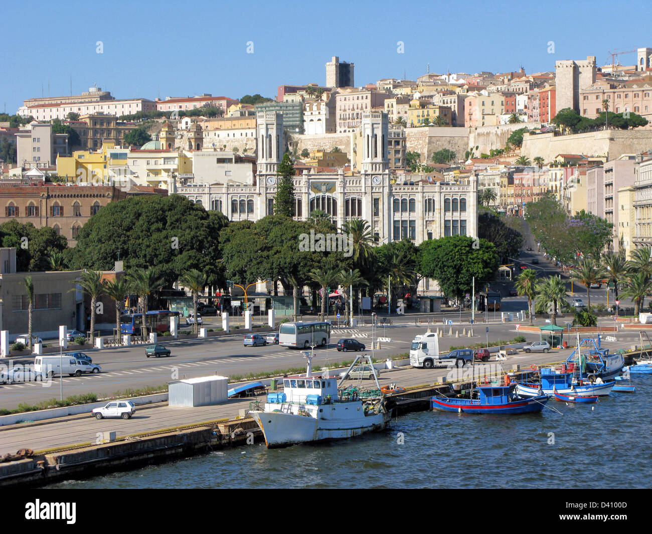 Sardinia cagliari marina district via stock photos for Isola arreda cagliari