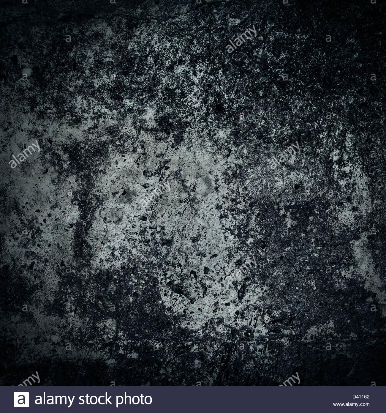 dark wall texture backdrop - Stock Image