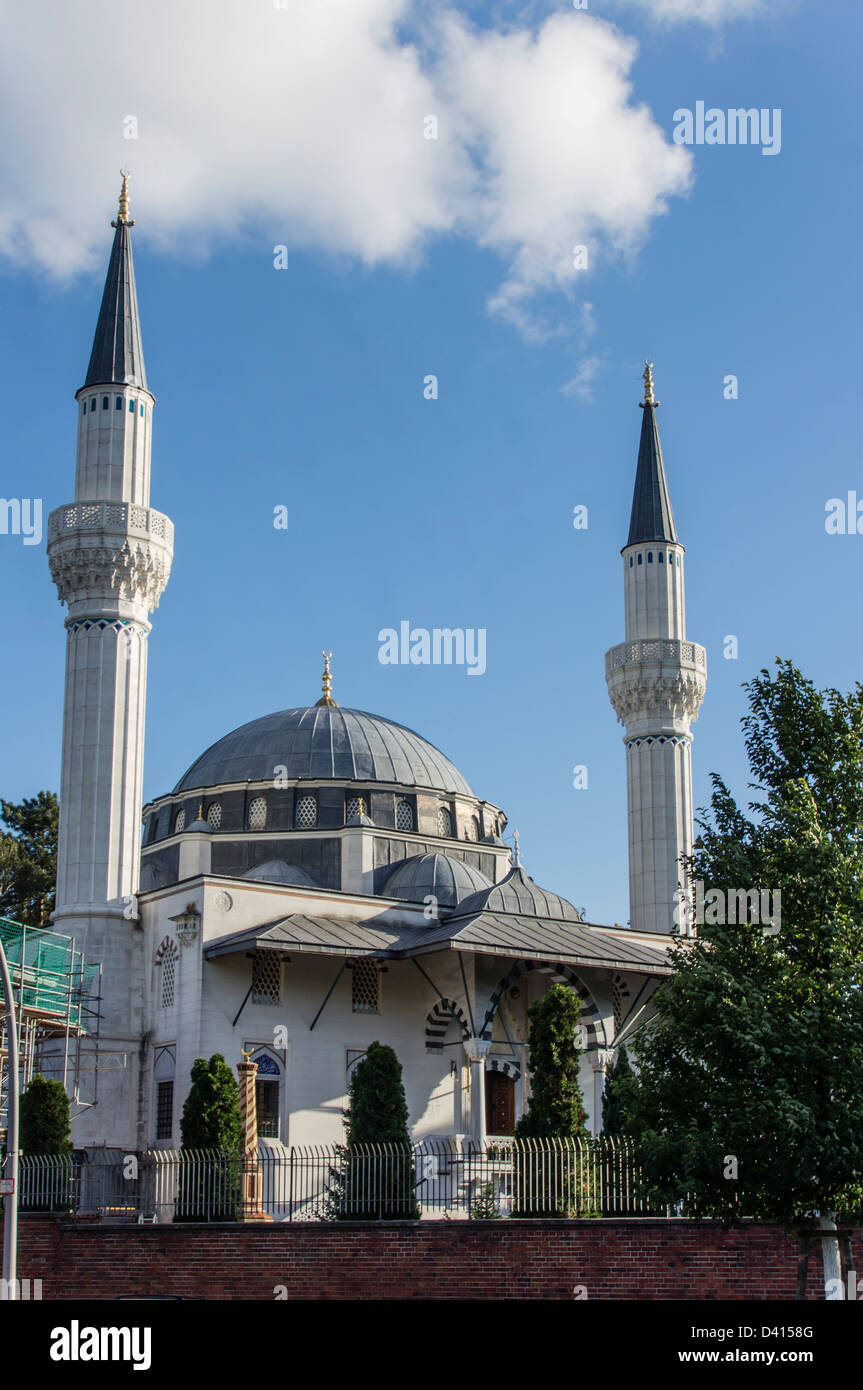 Mosque at Berlin Neukoelln, , Berlin, Germany - Stock Image
