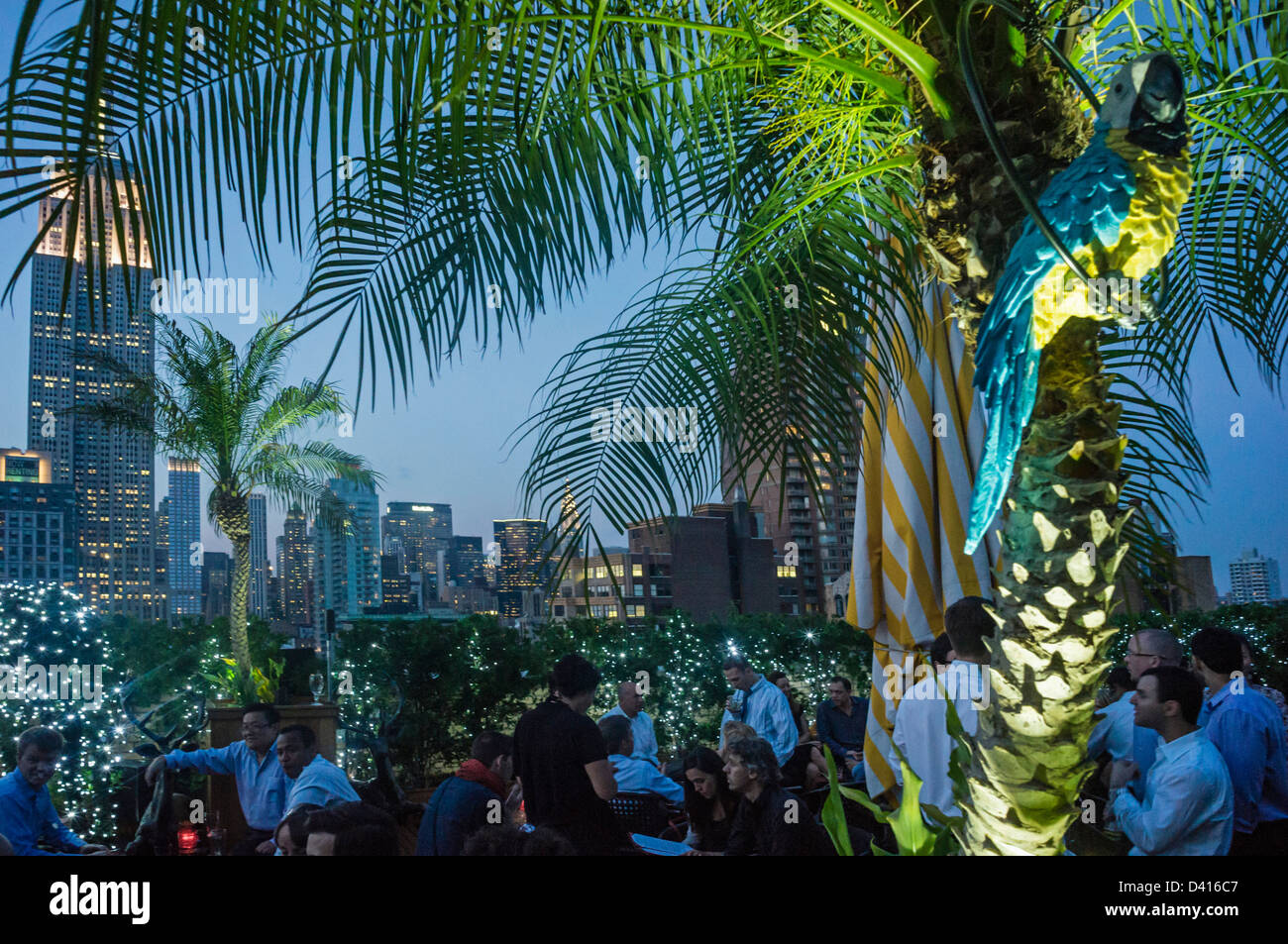 Rooftop Bar 230 Fith Avenue, Manhattan , New York, USA,  - Stock Image