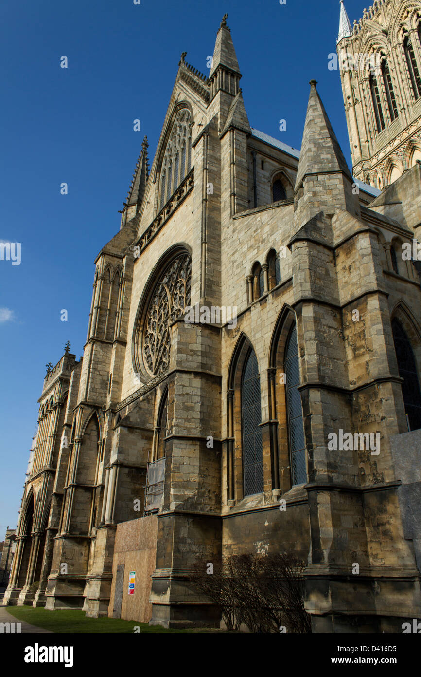 Lincoln Cathedral - Stock Image