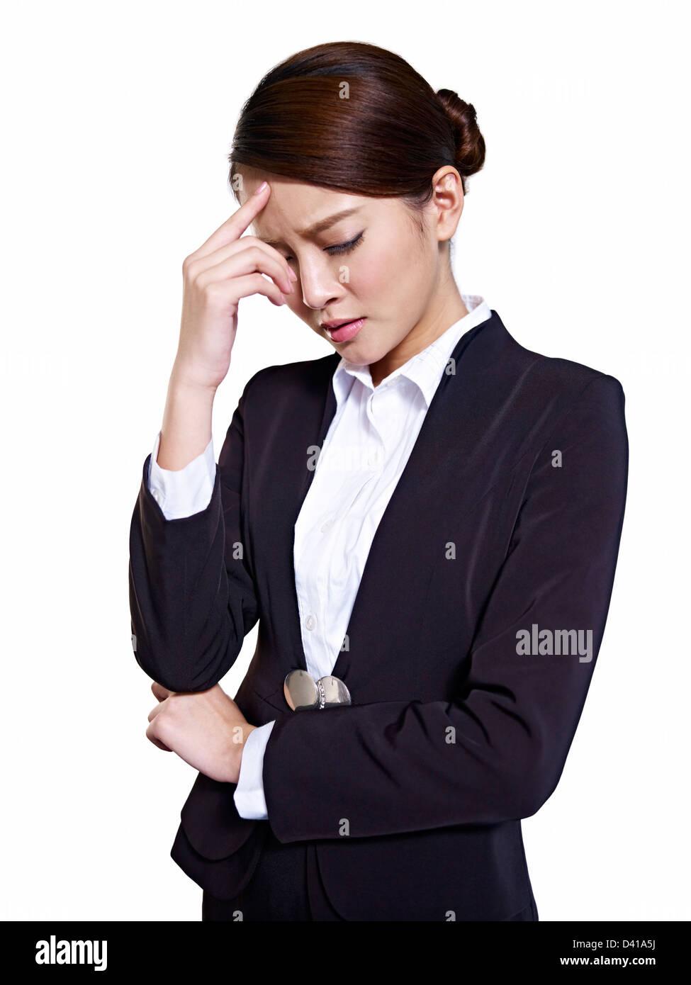 Asian Business Woman - Stock Image
