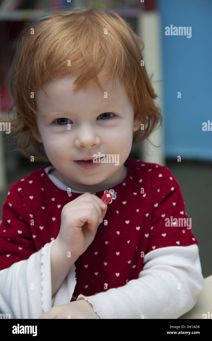 Smart Kids Are Us, a multicultural nursery school and early learning center in Brooklyn, NY. - Stock Image
