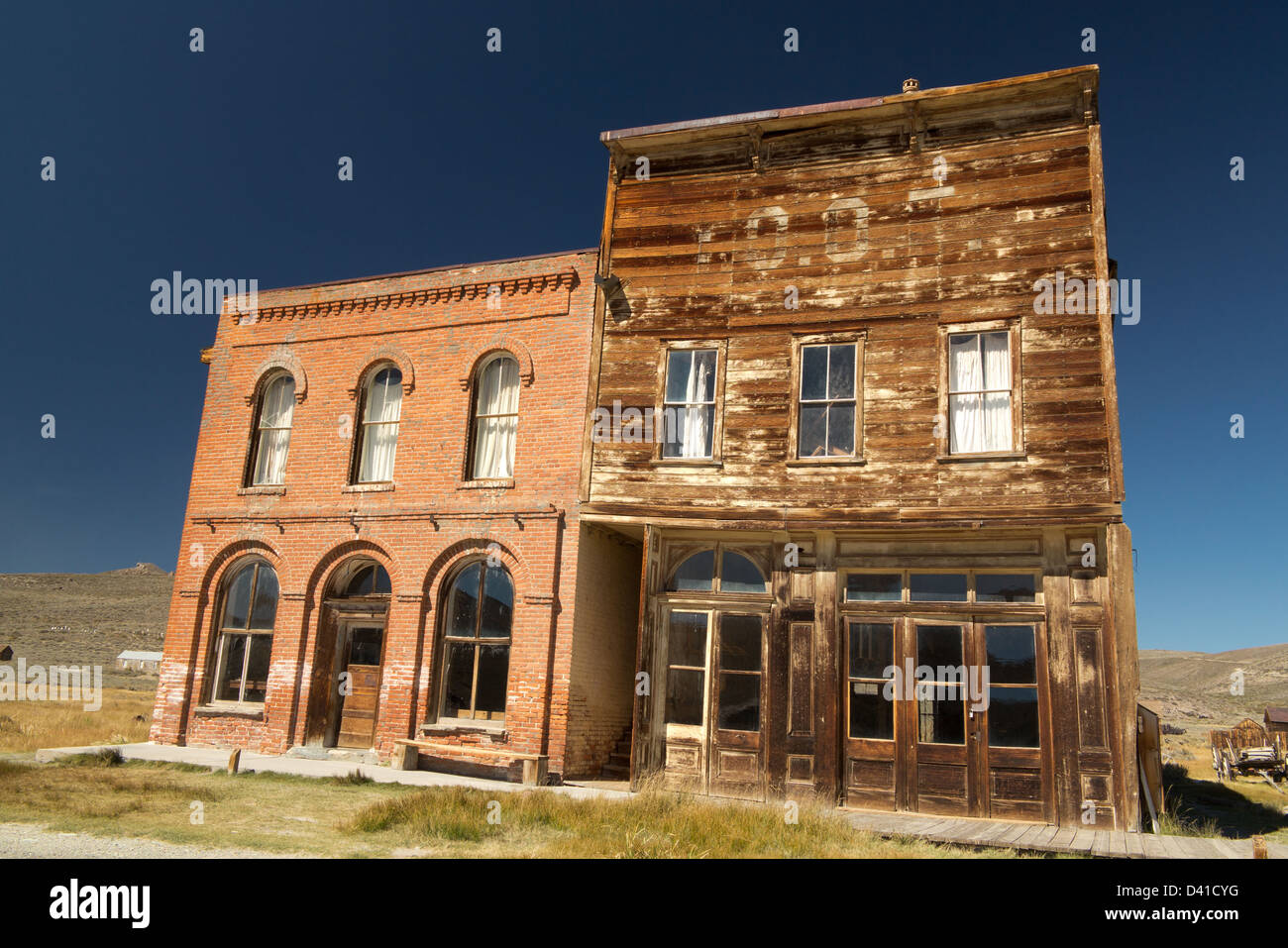 The abandoned mining town Bodie, California, USA - Stock Image
