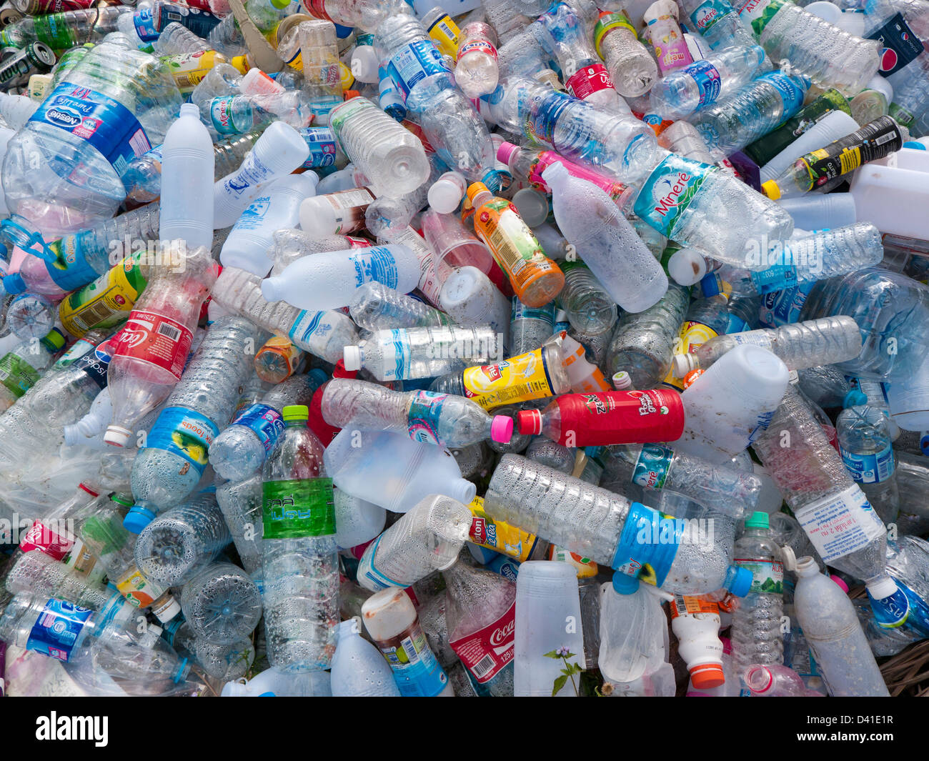 Plastic Bottle Recycling Part - 15: Plastic Bottles For Recycling In Thailand