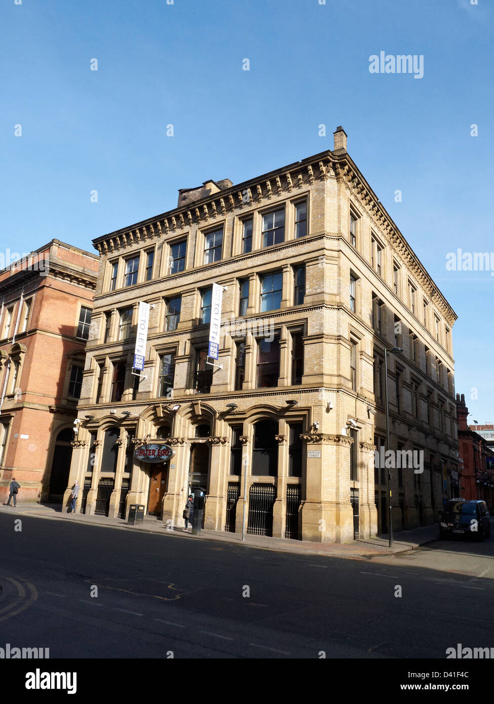 105-107 Princess Street Manchester UK - Stock Image