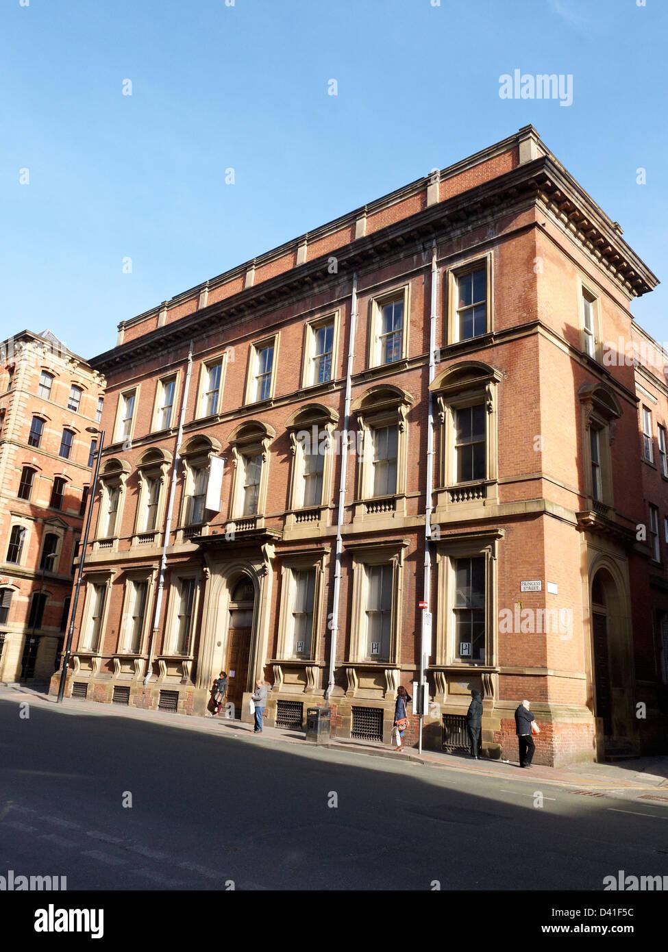 103 Princess Street in Manchester UK - Stock Image