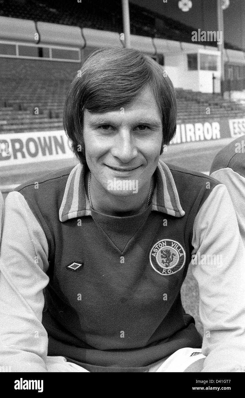 Leighton Phillips Aston Villa football club footballer 1976 - Stock Image