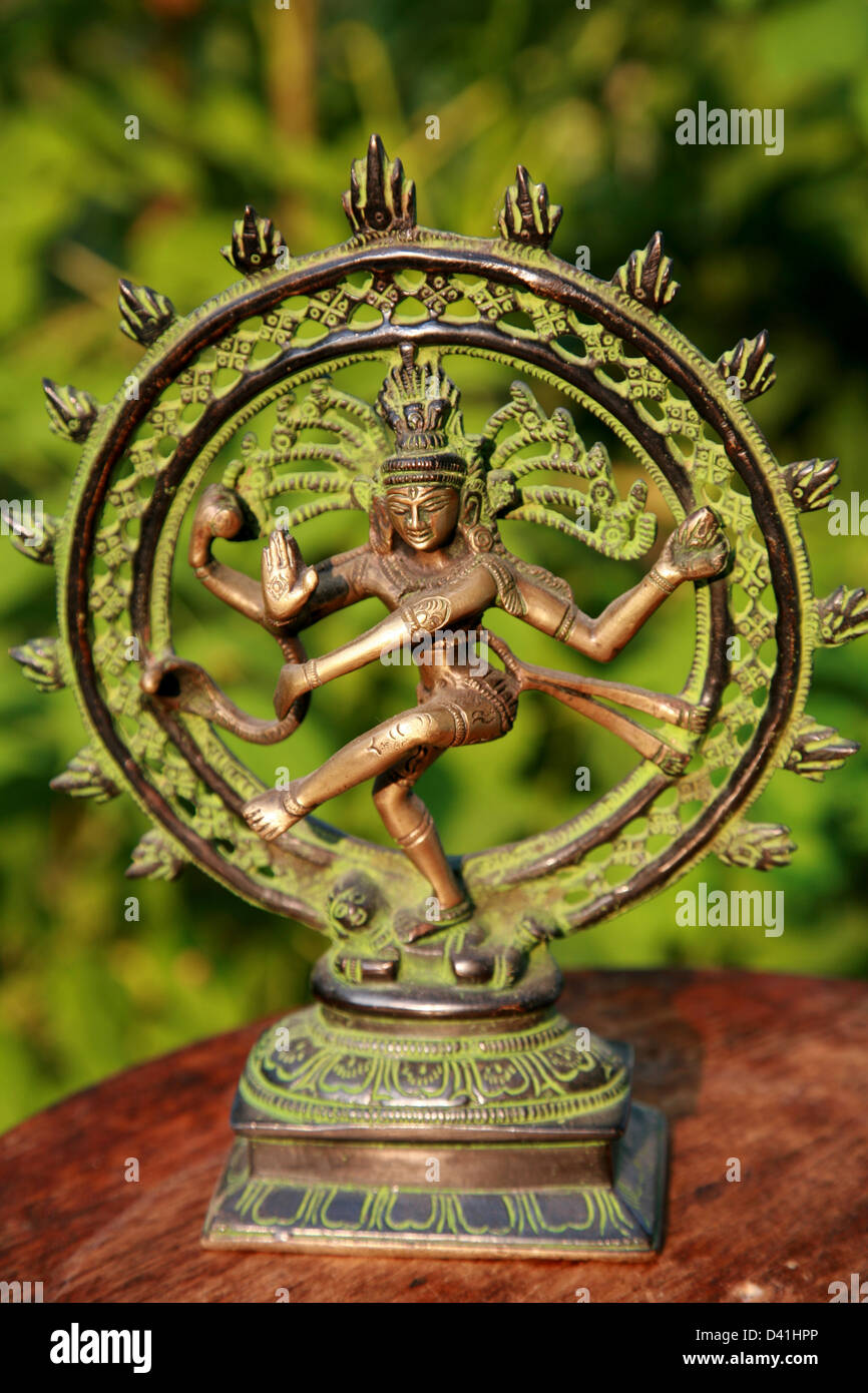 Hindu God Shiva - Lord Dance - Stock Image