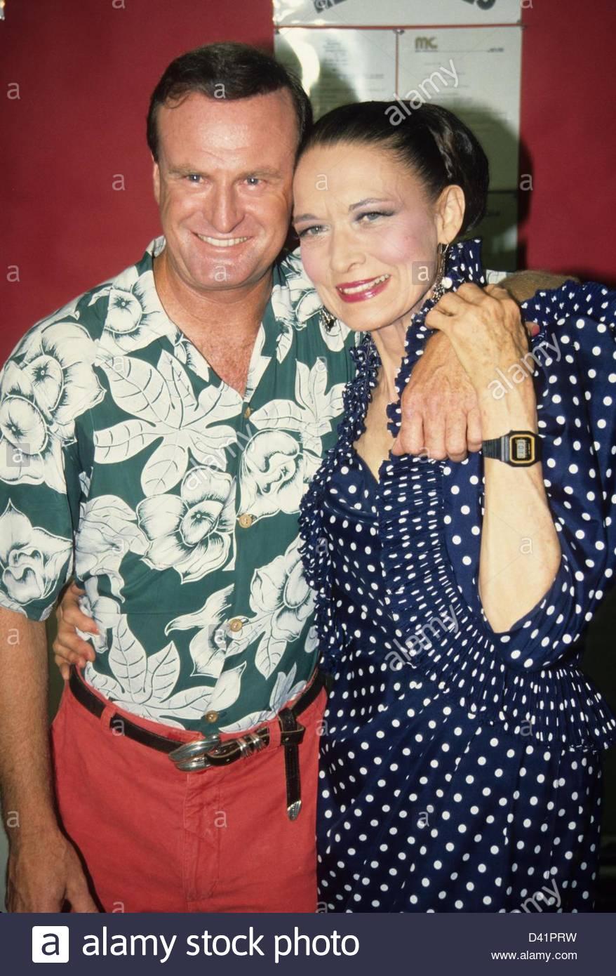 PETER ALLEN with Julie Wilson.a3615.(Credit Image: © Adam Scull/Globe Photos/ZUMAPRESS.com) Stock Photo