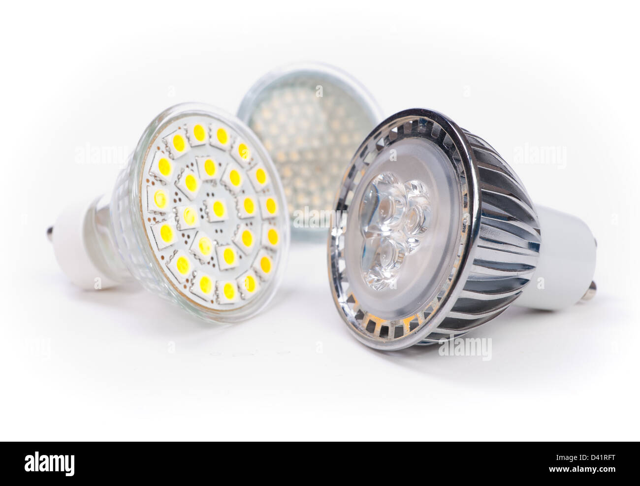 led lamps - Stock Image