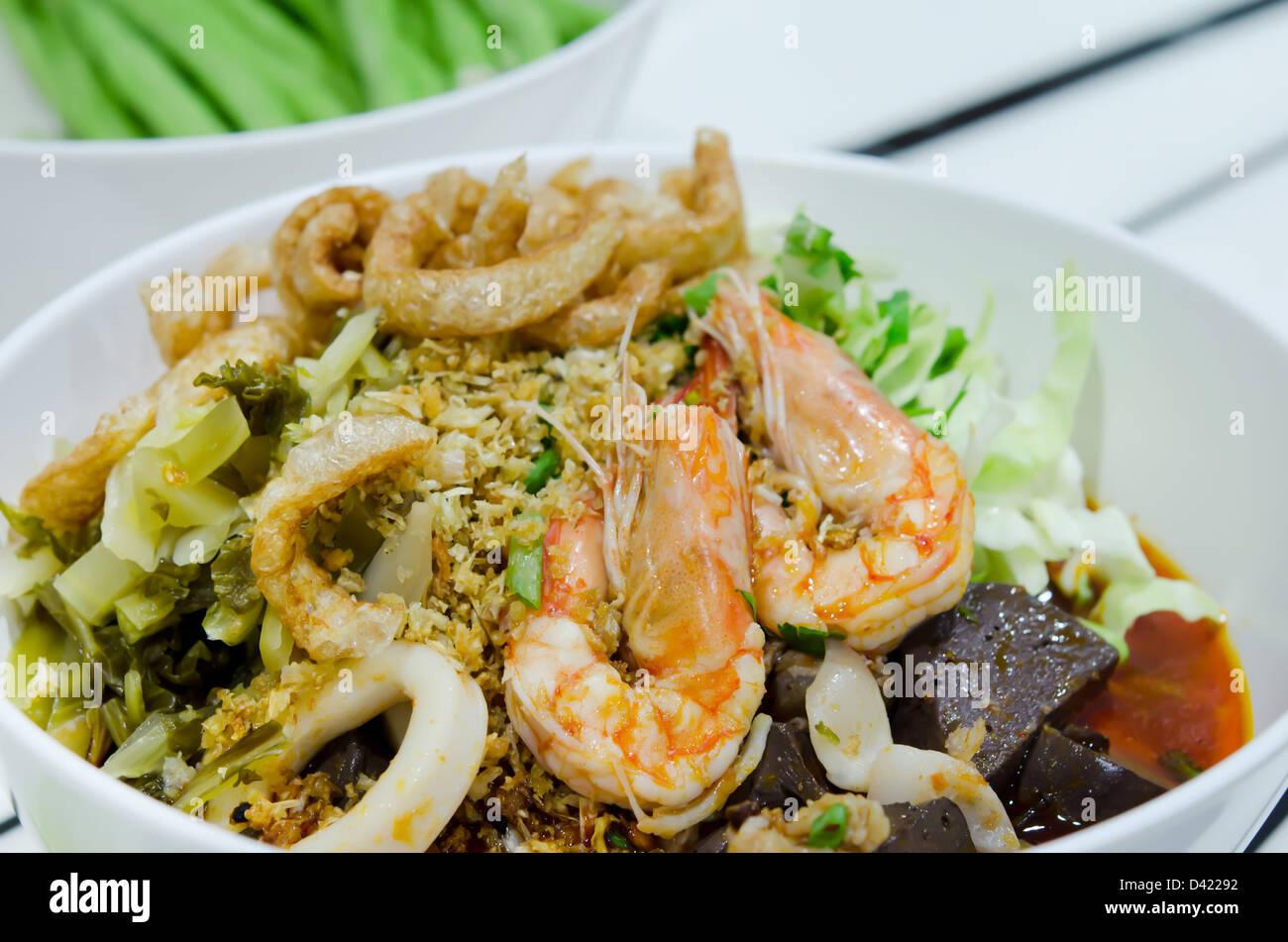 Chiangmai Noodles Stock Photos & Chiangmai Noodles Stock