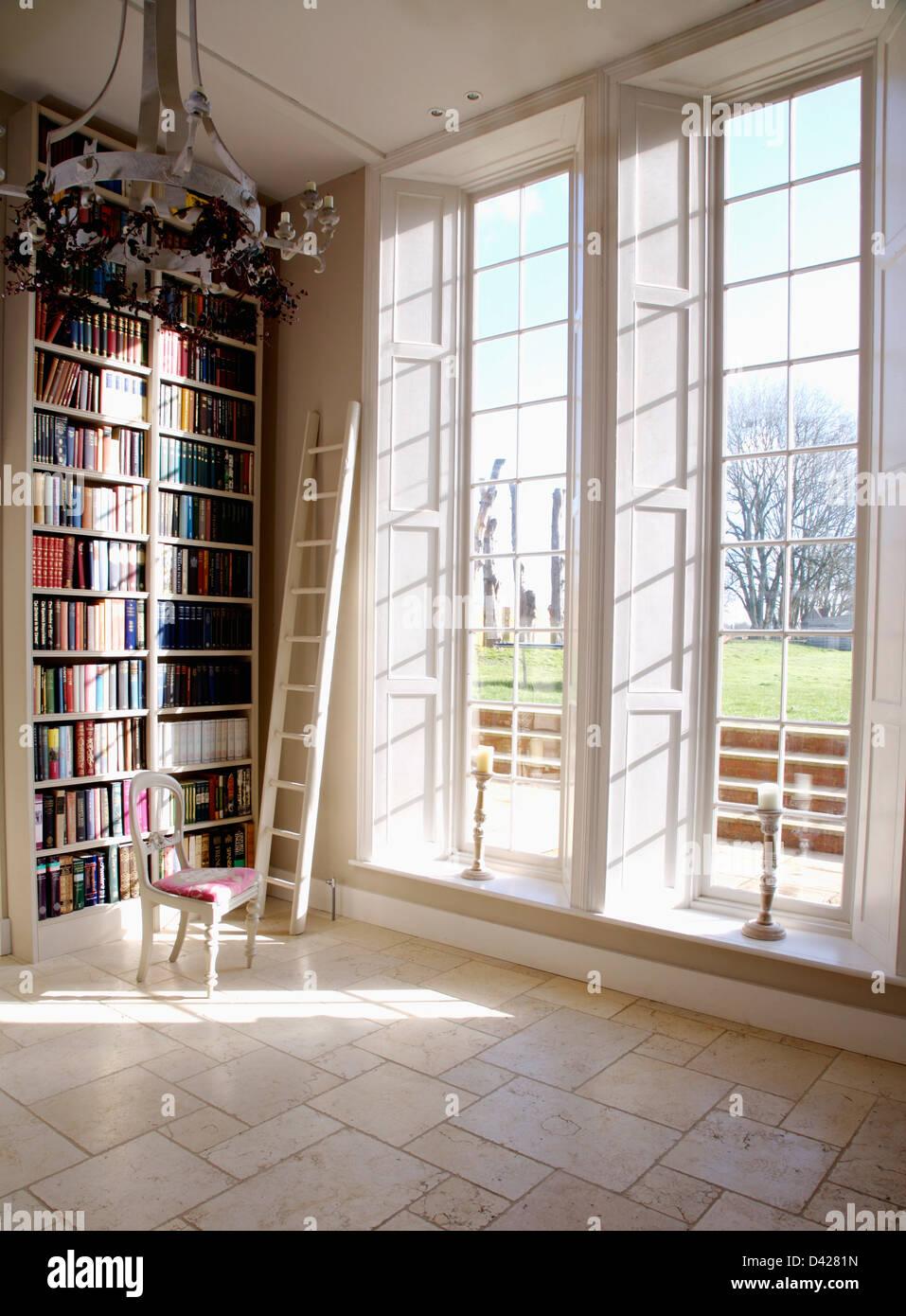 ins urban floor nyc bookshelves brooklyn room living homecraft custom shelving in white shelves built ceiling to