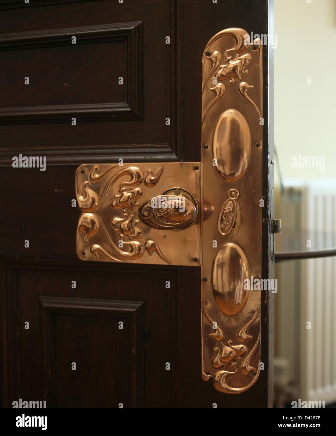 plate art nouveau stock photos plate art nouveau stock. Black Bedroom Furniture Sets. Home Design Ideas