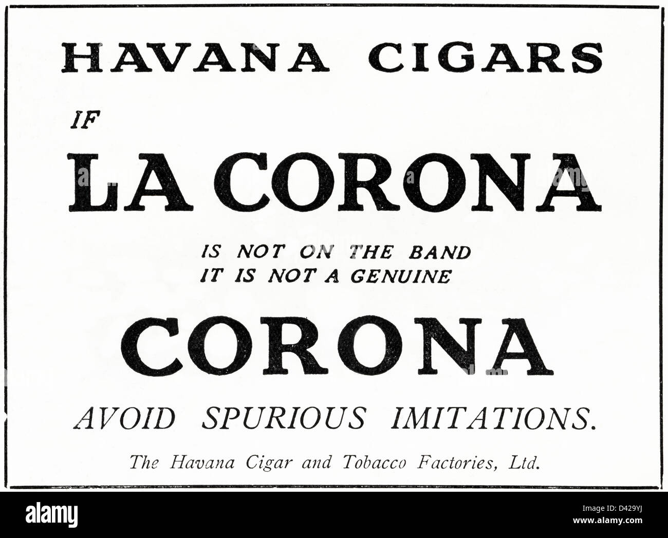 Cigar Advertising High Resolution Stock Photography And Images Alamy