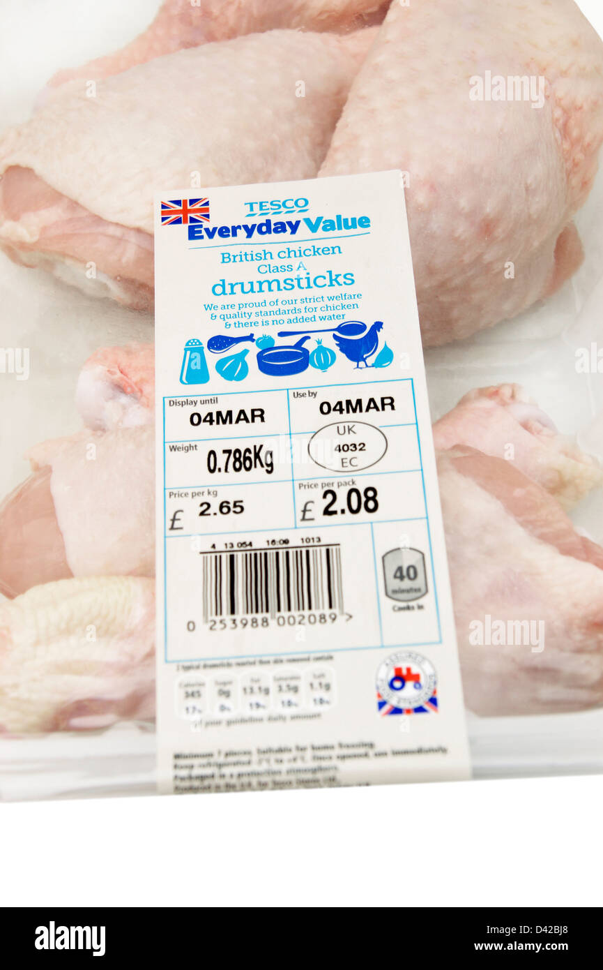 Sell by date on chicken in Australia