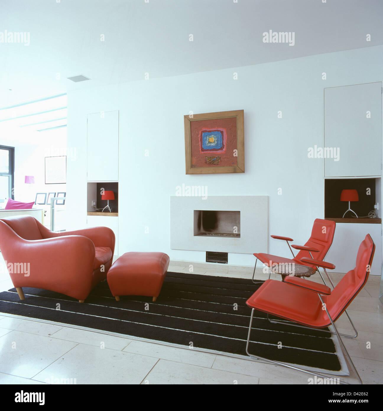 Matthew Hilton Balzac Lounge Chair And Stool In Modern
