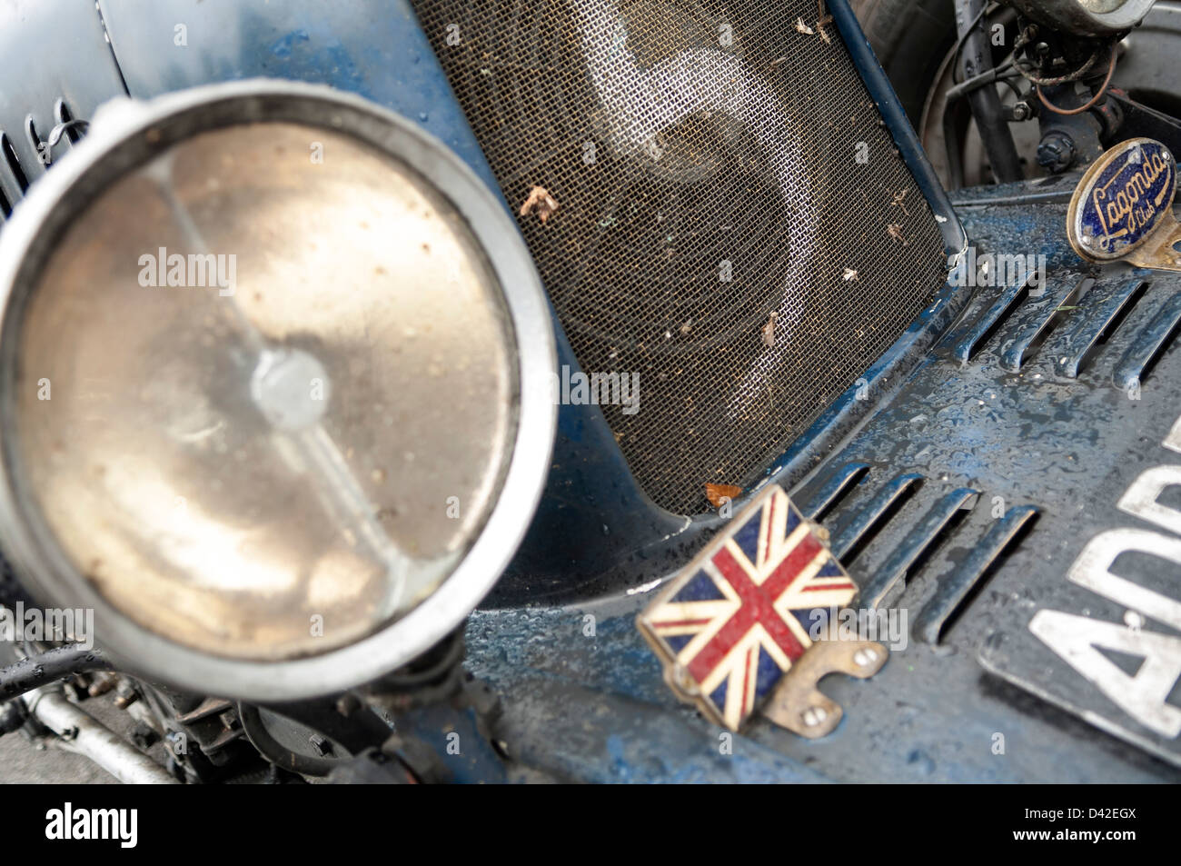 Lagonda Pre war classic car - Stock Image