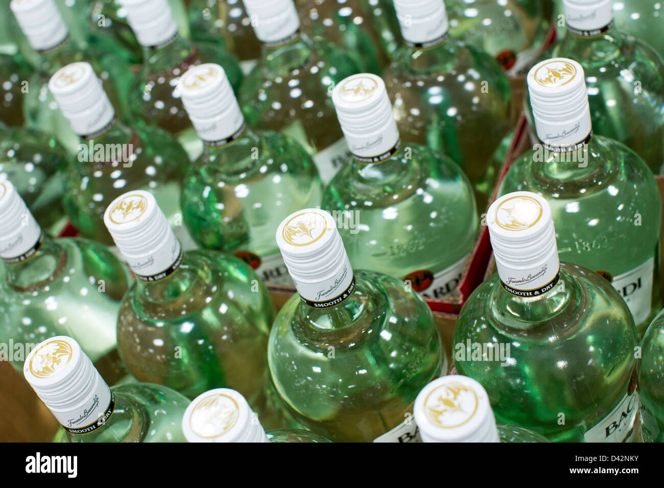 Bacardi rum on display at a costco wholesale warehouse club stock bacardi rum on display at a costco wholesale warehouse club stock photo 54150655 alamy thecheapjerseys Images