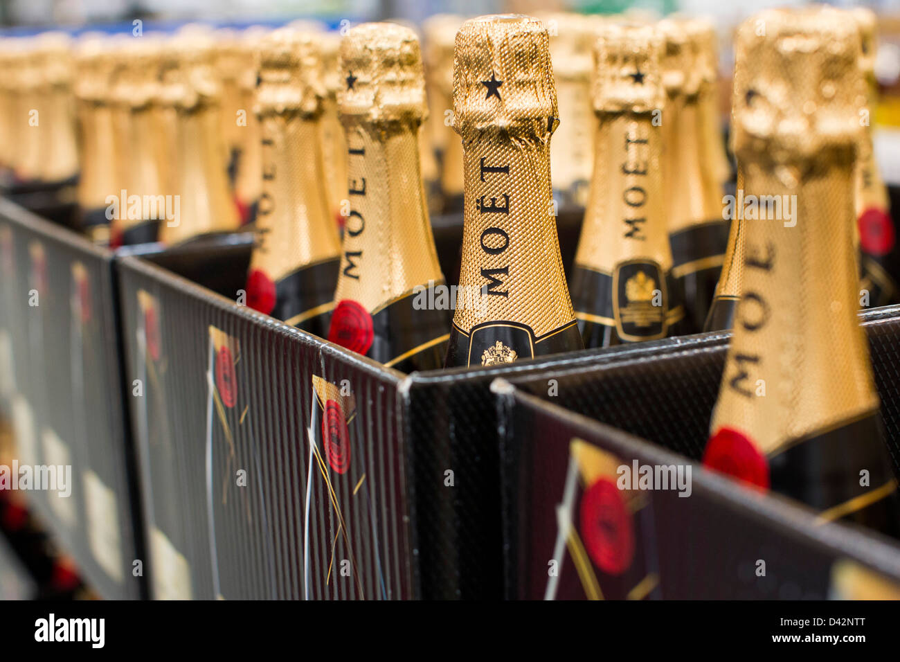 Moet champagne on display at a costco wholesale warehouse club stock moet champagne on display at a costco wholesale warehouse club stock photo 54150792 alamy thecheapjerseys Images