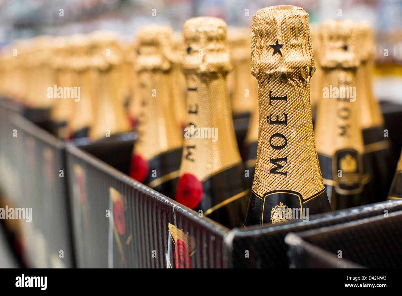 Moet champagne on display at a costco wholesale warehouse club stock moet champagne on display at a costco wholesale warehouse club stock photo 54150799 alamy thecheapjerseys Images