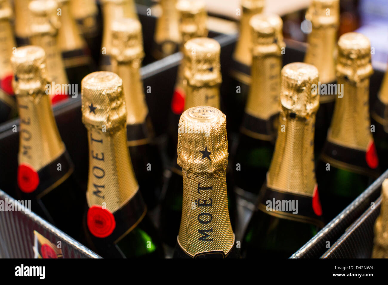 Moet champagne on display at a costco wholesale warehouse club stock moet champagne on display at a costco wholesale warehouse club stock photo 54150800 alamy thecheapjerseys Images
