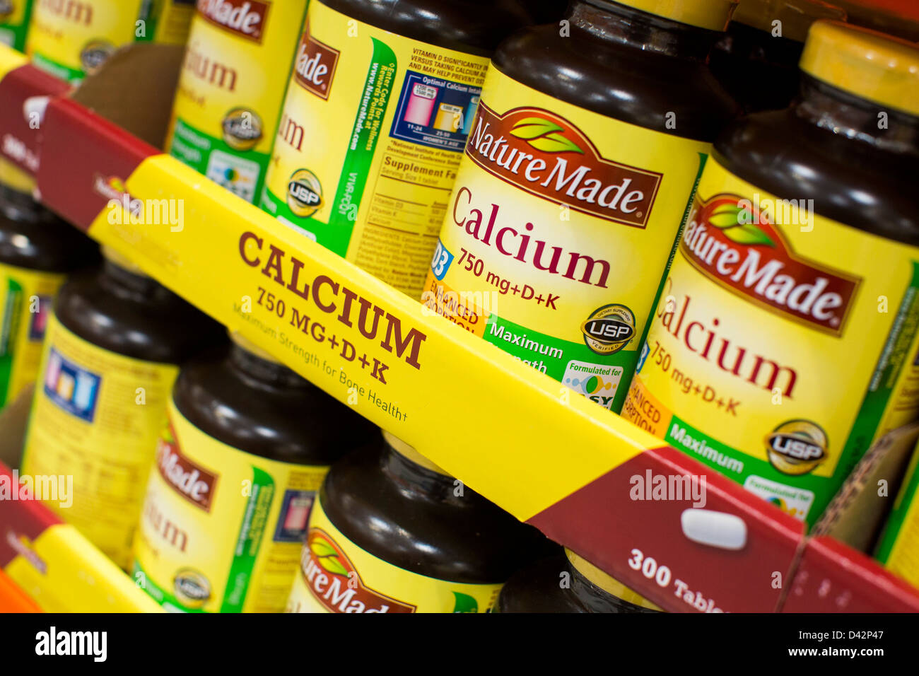 Calcium vitamins on display at a costco wholesale warehouse club calcium vitamins on display at a costco wholesale warehouse club stock photo 54150999 alamy thecheapjerseys Images
