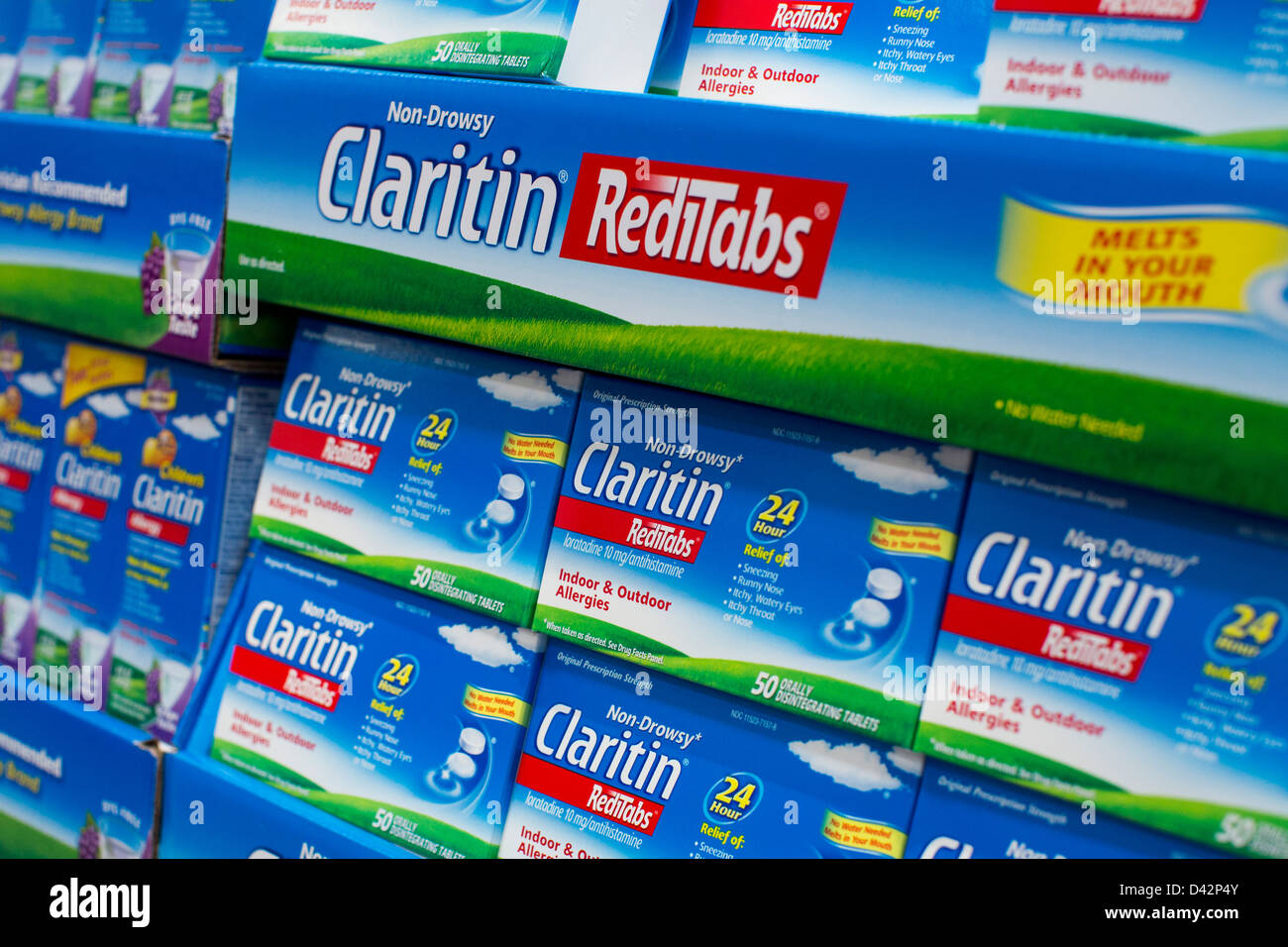 Claritin on display at a costco wholesale warehouse club stock photo claritin on display at a costco wholesale warehouse club stock photo 54151019 alamy thecheapjerseys Images