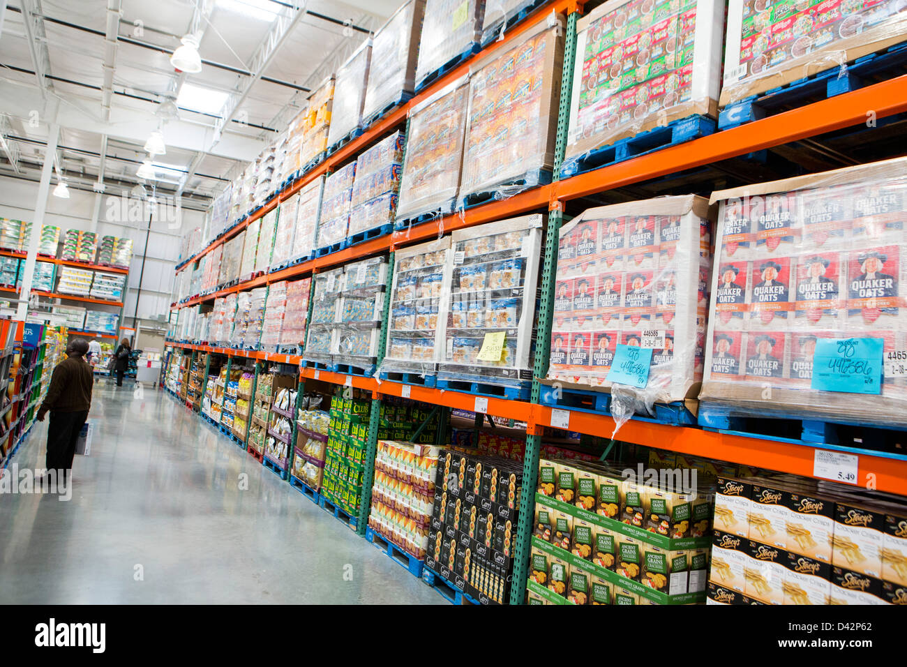 Products on display at a costco wholesale warehouse club stock photo products on display at a costco wholesale warehouse club stock photo 54151050 alamy thecheapjerseys Images