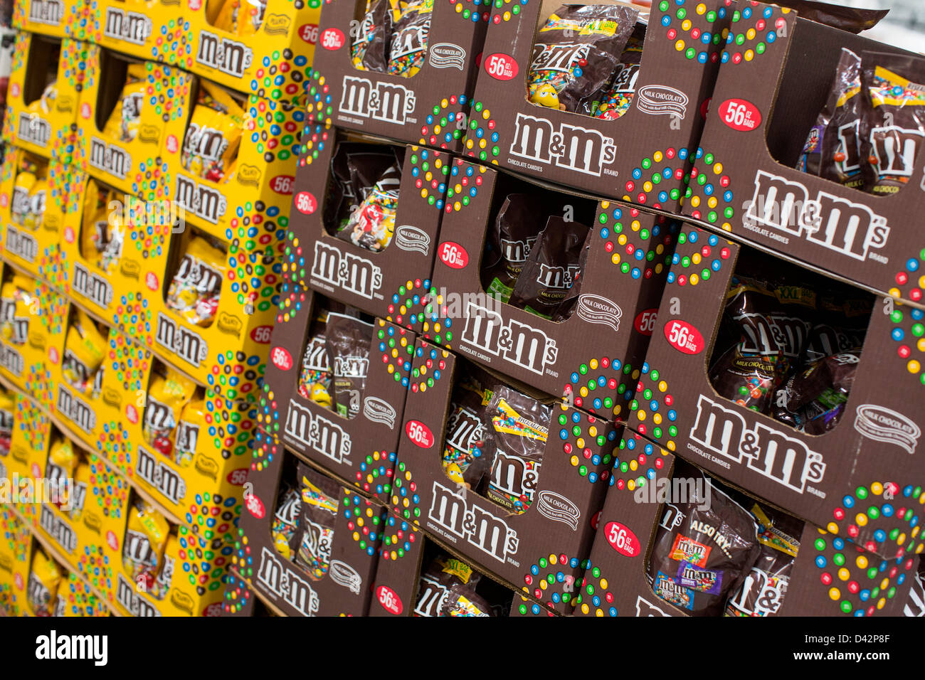 Mms on display at a costco wholesale warehouse club stock photo mms on display at a costco wholesale warehouse club stock photo 54151119 alamy thecheapjerseys Images
