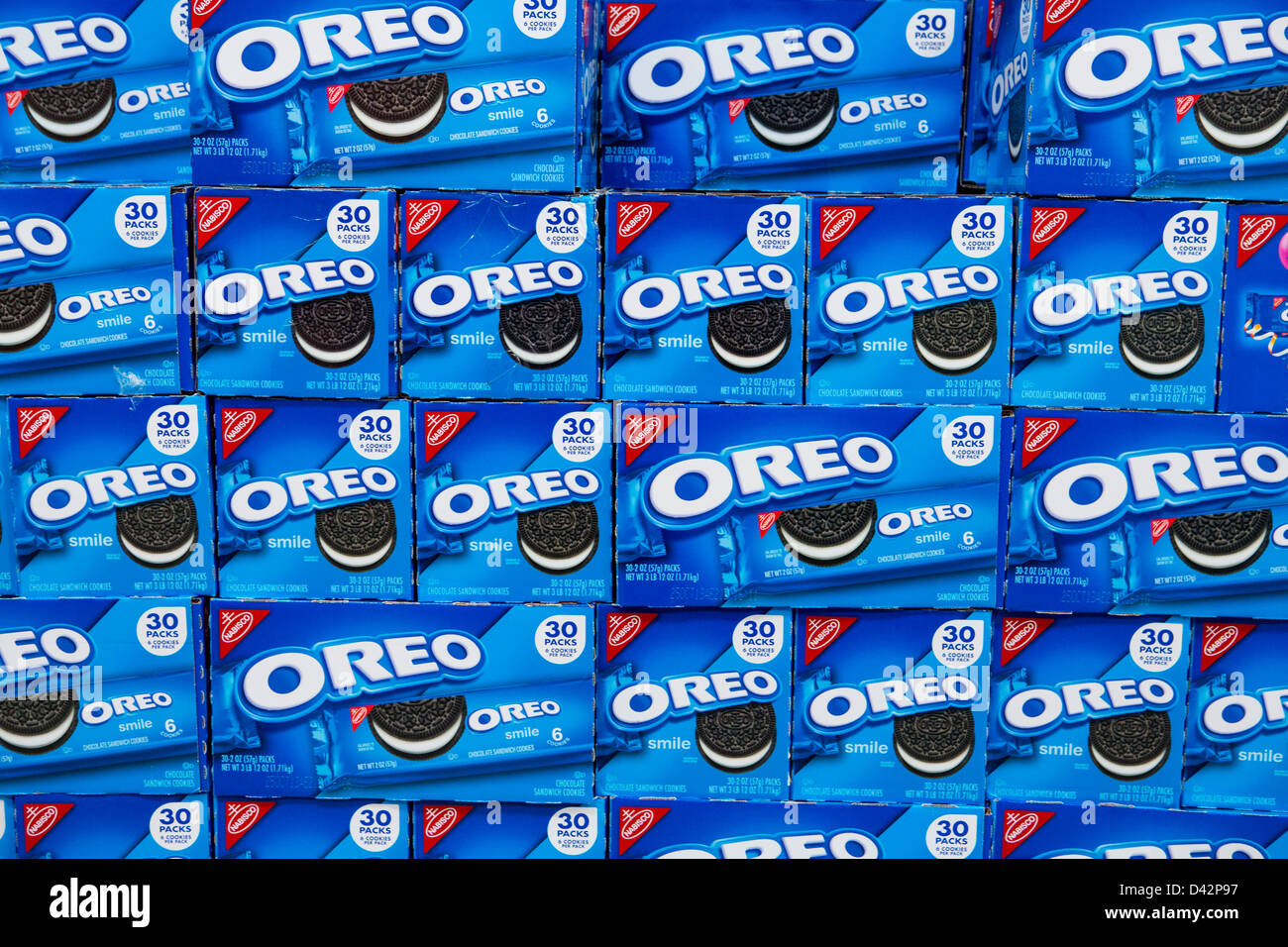 Oreo cookies on display at a costco wholesale warehouse club stock oreo cookies on display at a costco wholesale warehouse club stock photo 54151139 alamy thecheapjerseys Images