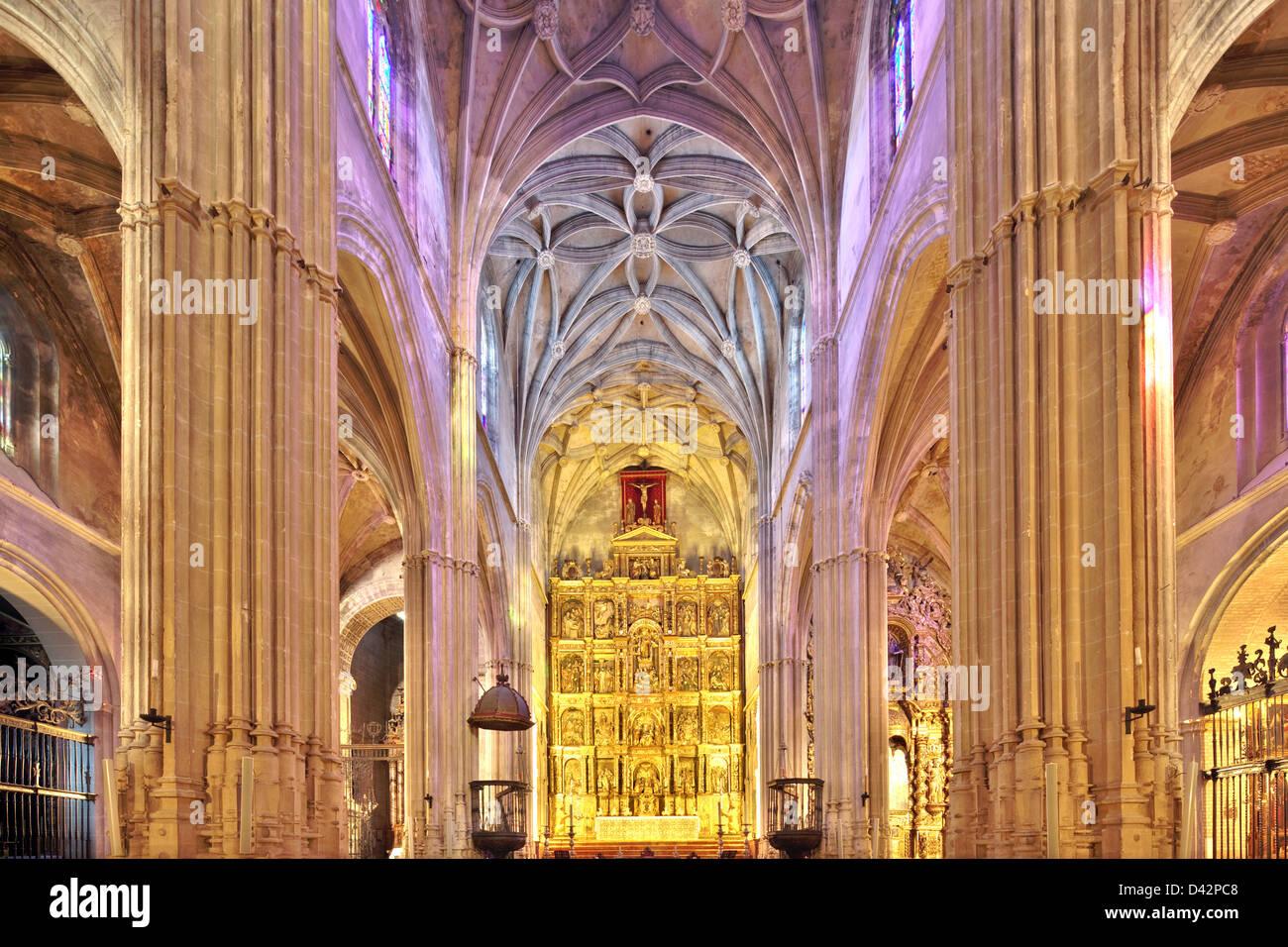 Carmona, Spain, the church of Santa Maria de la Asuncion - Stock Image