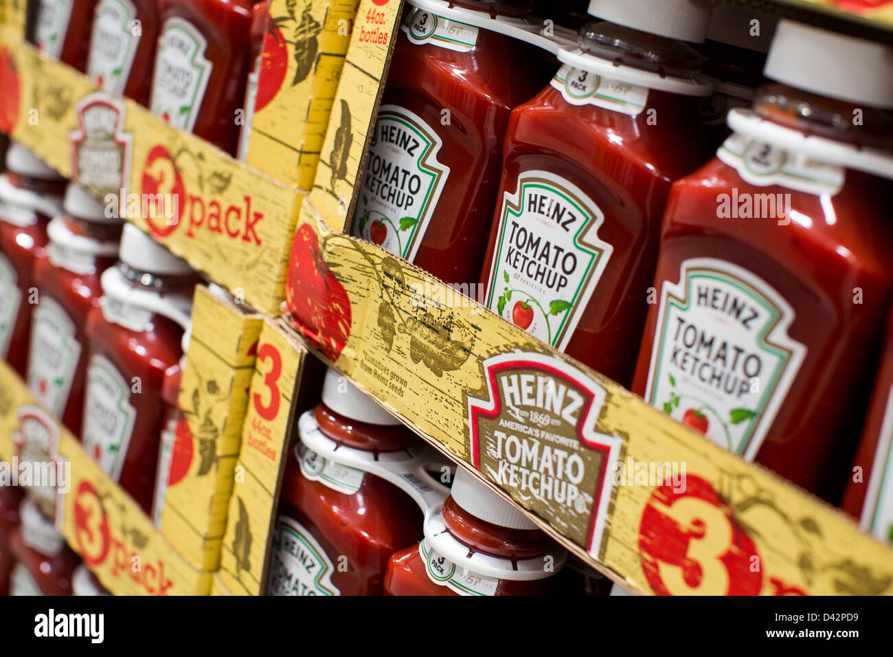 Heinz tomato ketchup on display at a costco wholesale warehouse club heinz tomato ketchup on display at a costco wholesale warehouse club stock photo 54151253 alamy thecheapjerseys Images