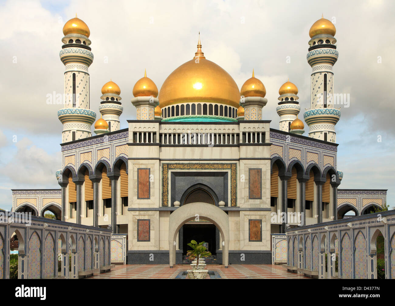 Brunei, Gadong, Jame'Asr Hassanil Bolkiah, Mosque, - Stock Image
