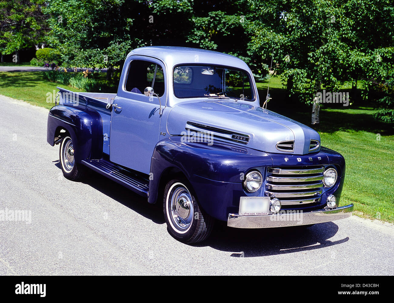 1950 ford pickup truck stock photos 1950 ford pickup. Black Bedroom Furniture Sets. Home Design Ideas