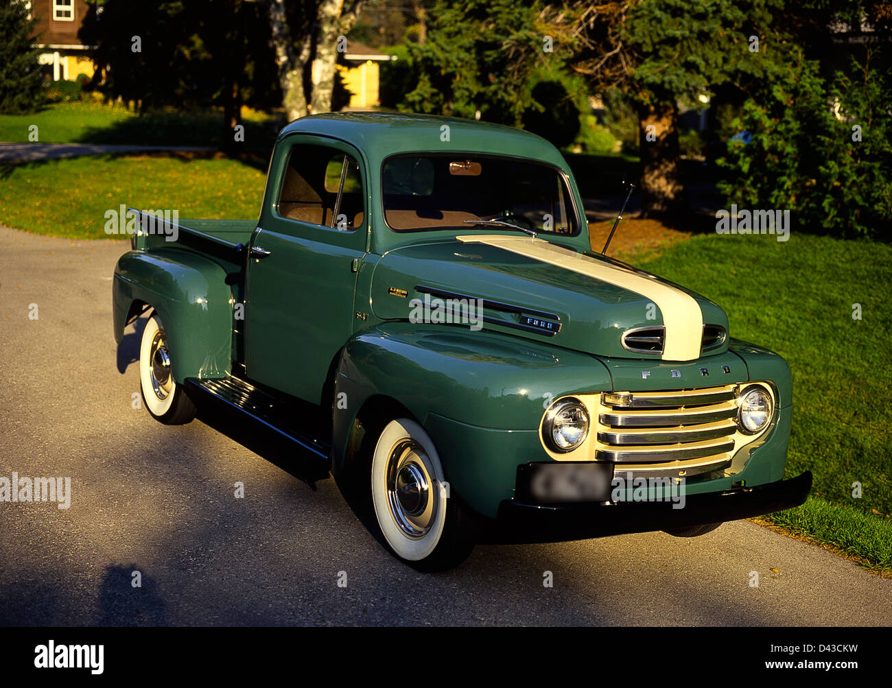 1950 ford f 47 pick up truck canadian build stock photo 54165549 alamy. Black Bedroom Furniture Sets. Home Design Ideas