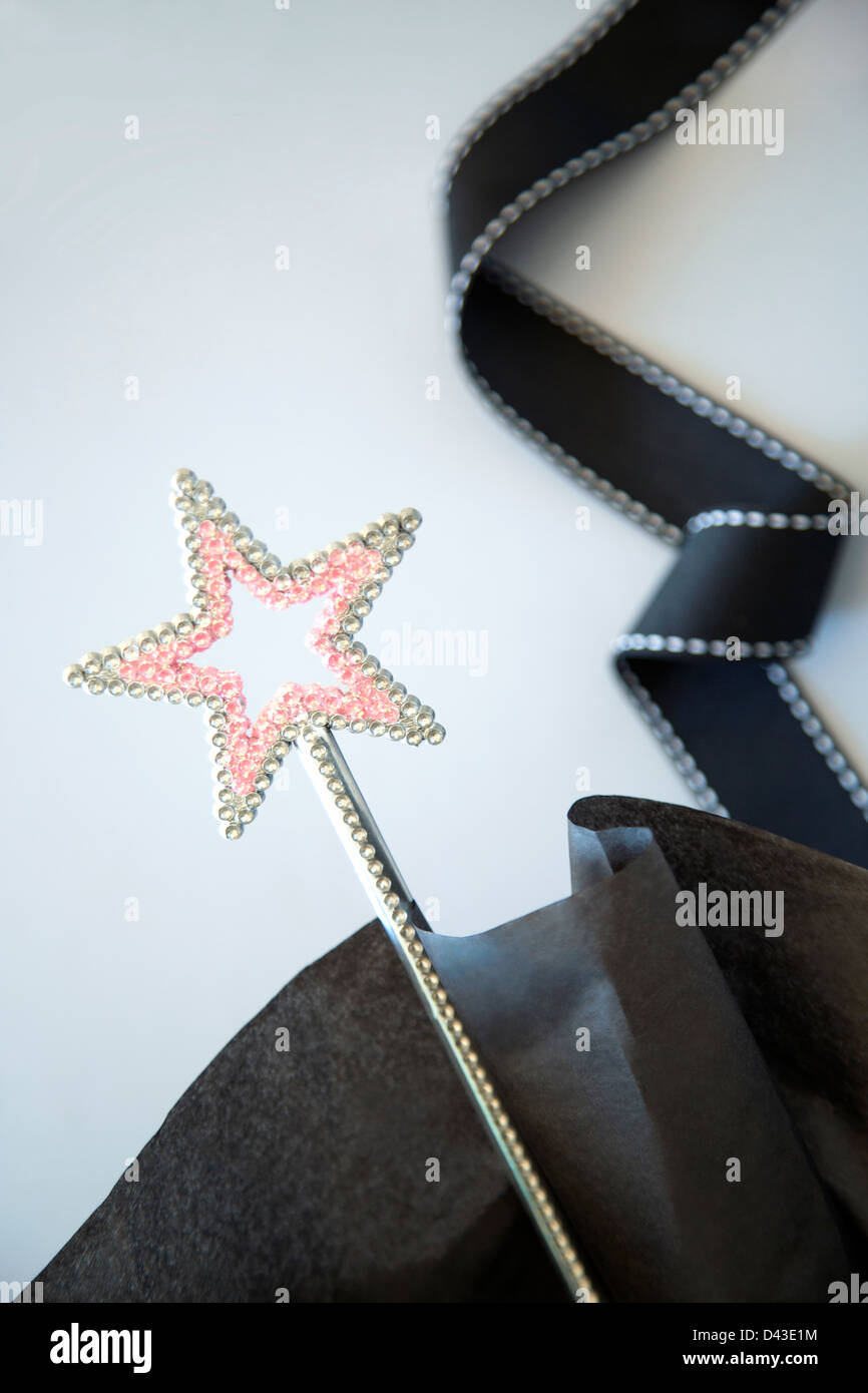 The wishing wand - Stock Image