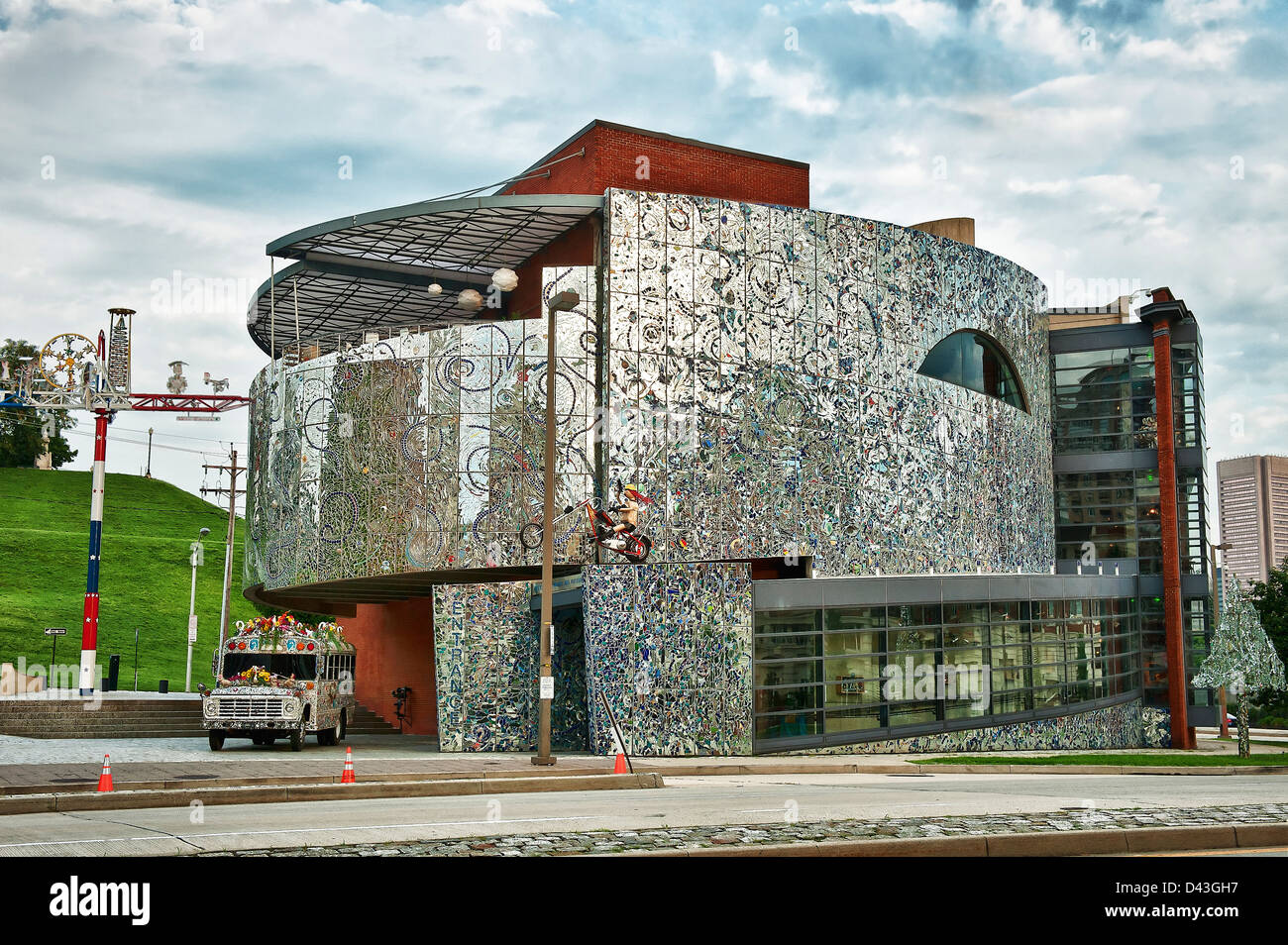 American Visionary Art Museum, Baltimore, Maryland, USA. - Stock Image
