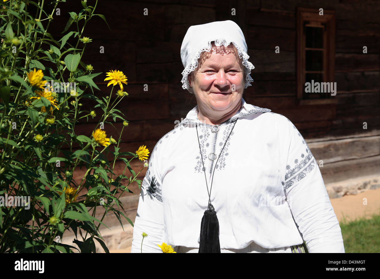 Latvian Ethnographic Open-air Museum, near Riga, Latvia - Stock Image