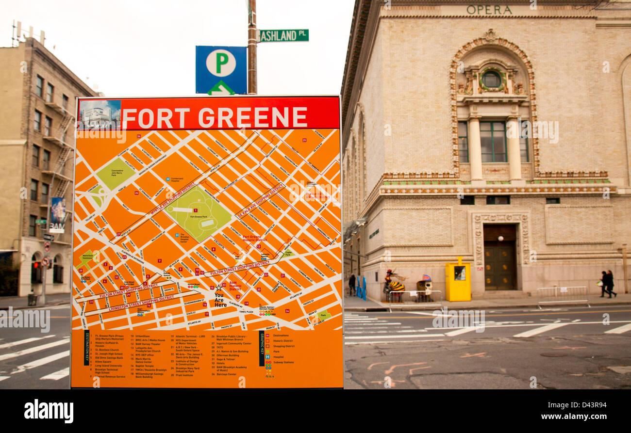 Fort Greene Subway Map.New York Map Borough Stock Photos New York Map Borough Stock