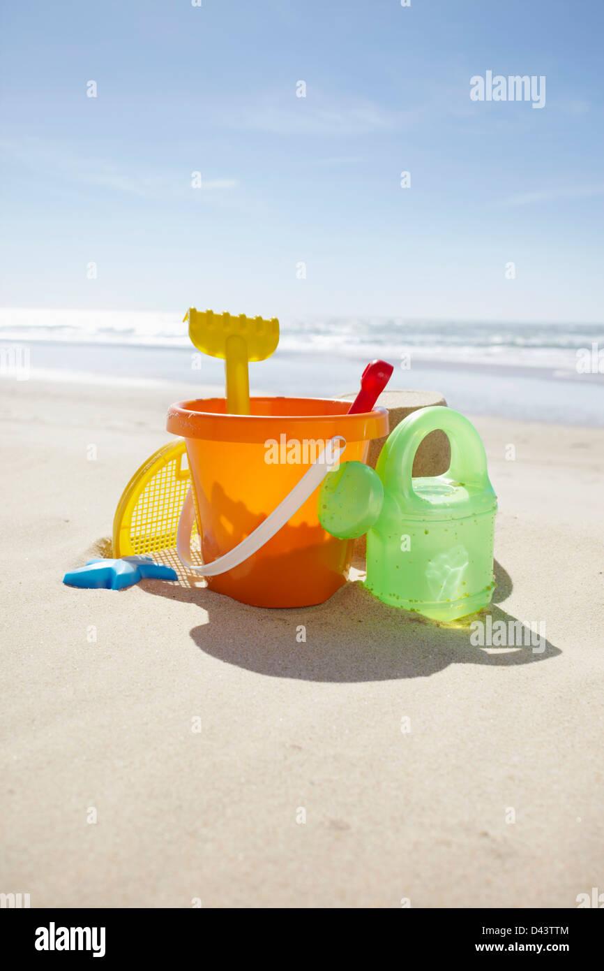 Summer Beach Bucket Door Hanger Made to Order