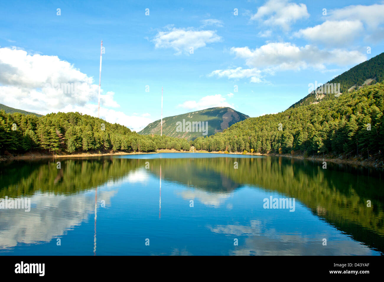 Lake Andorra - Stock Image