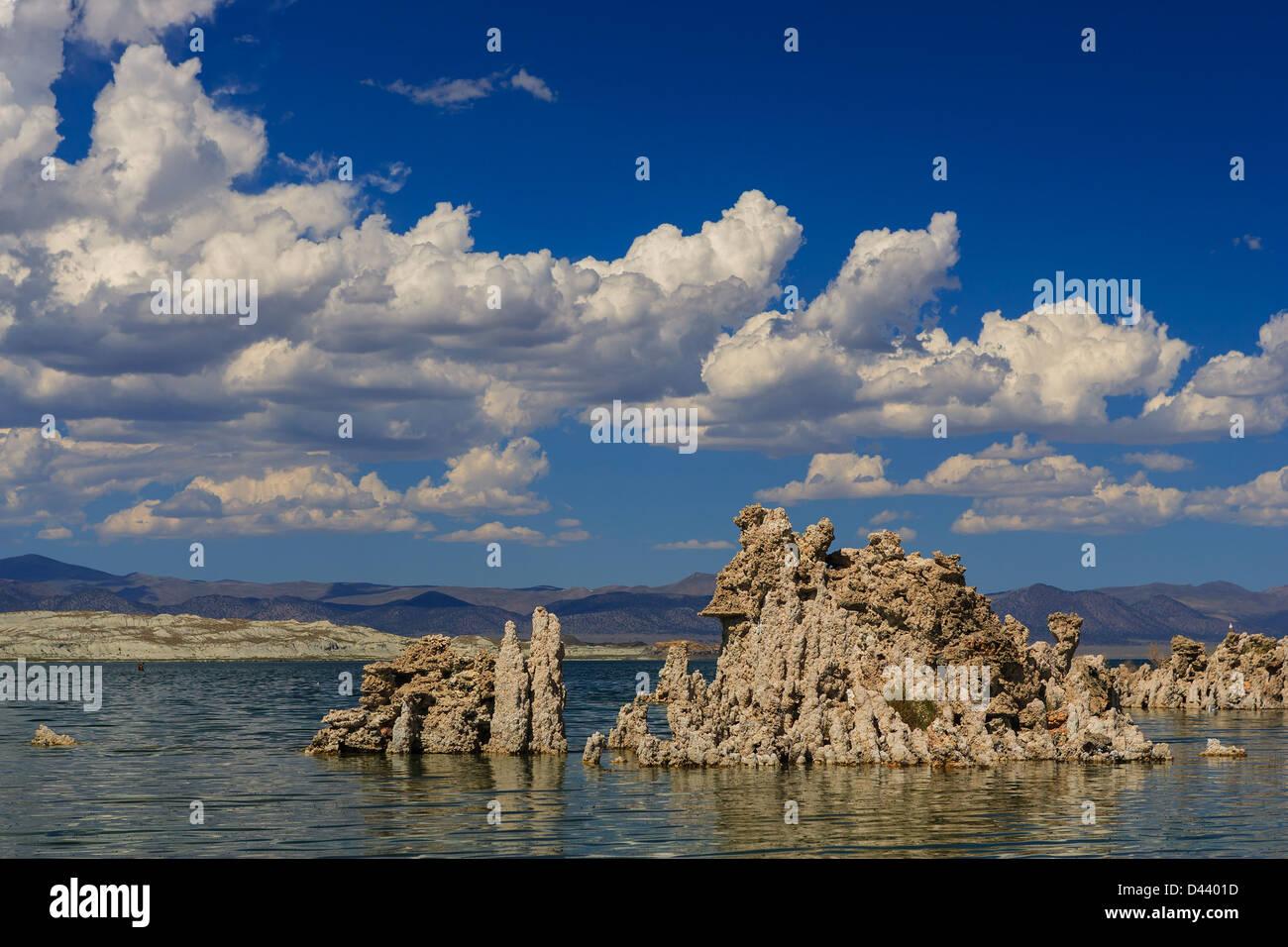 South Tufa Beach, Mono Lake, California, USA - Stock Image