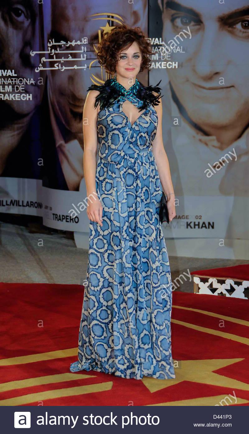 French actress Marion Cotillard arrives Festival International of Film Marrakech ©William Stevens - Stock Image