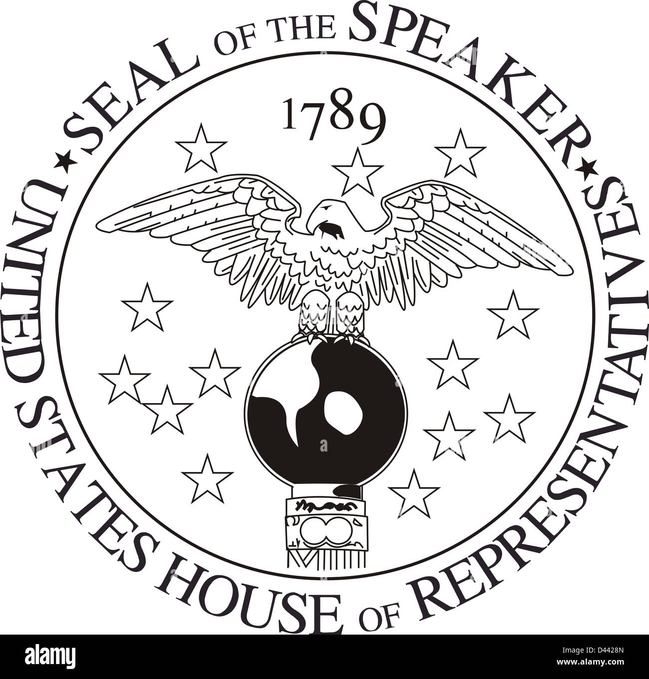 Speaker of the House seal United States House of Representatives