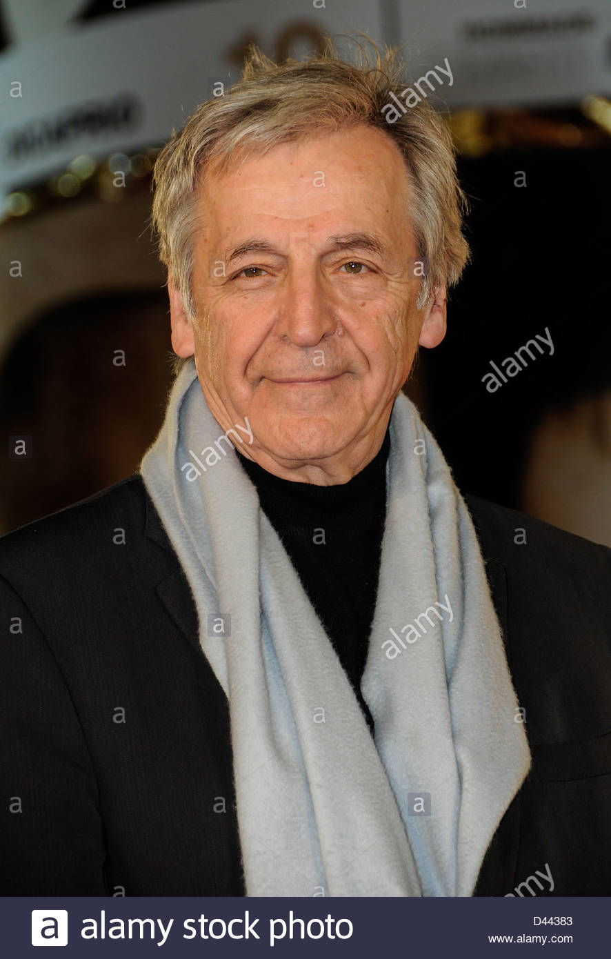 Director Costa Gavras arrives Festival International Film Marrakech  ©William Stevens - Stock Image